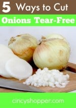 5 Ways to Cut Onions Tear-Free