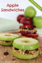 After School Snack: Apple Sandwiches Recipe