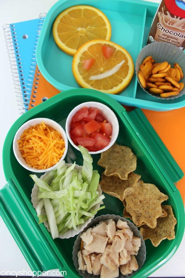 Chicken Taco Bento Lunchbox Recipe 1