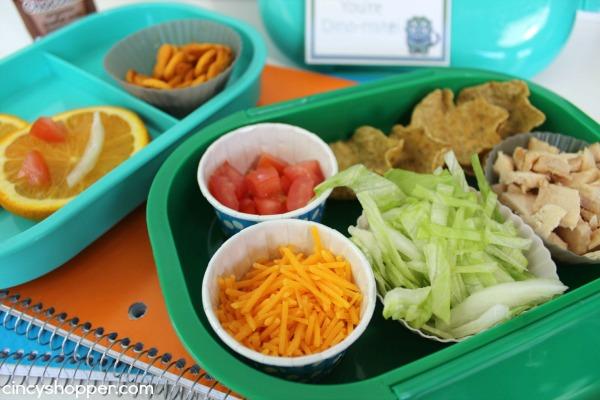 Chicken Taco Bento Lunchbox Recipe 4