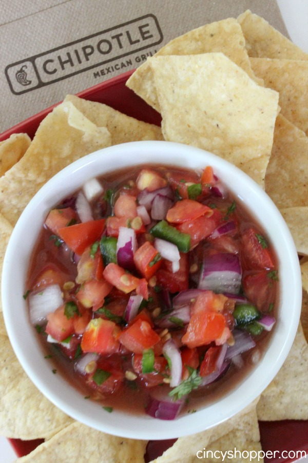Copycat Chipotle Pico de Gallo - Simple to make right at home with fresh ingredients.