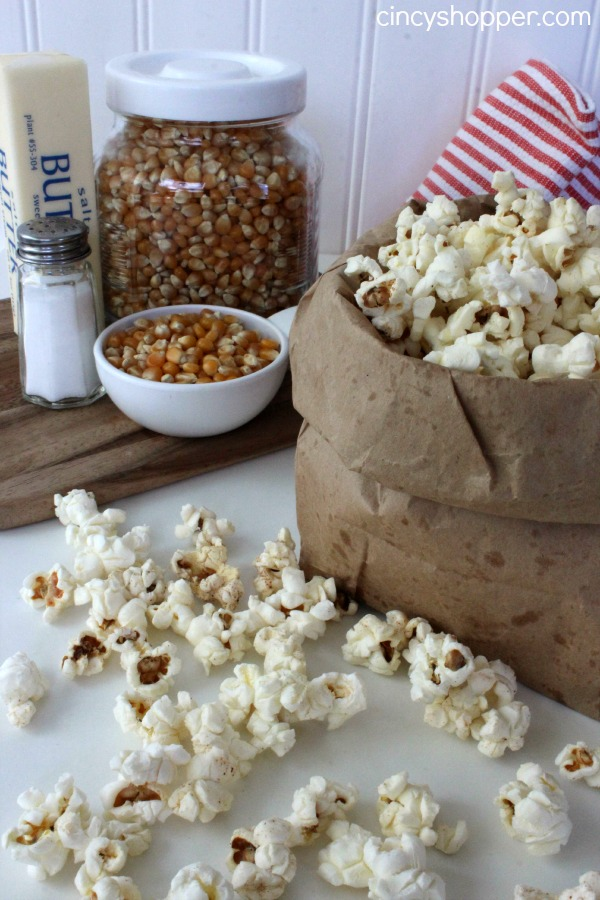 DIY Microwave Popcorn Recipe 1