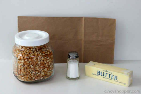 DIY Microwave Popcorn Recipe 2