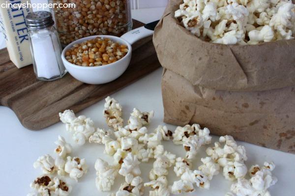 DIY Microwave Popcorn Recipe 4