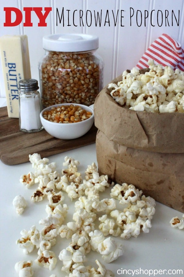 DIY Microwave Popcorn Recipe