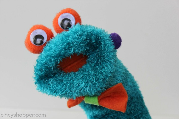 DIY Monster Sock Puppet 10