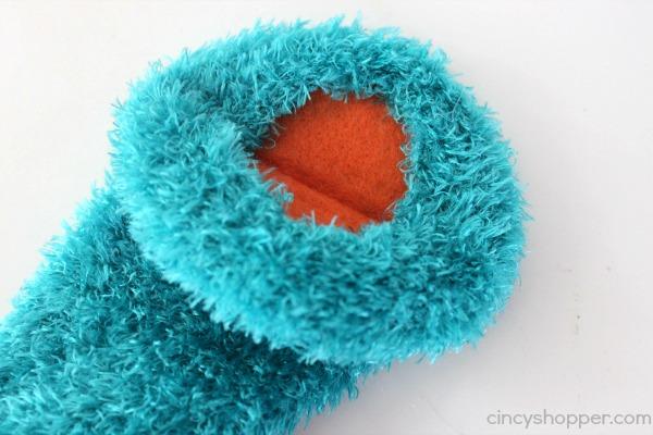 DIY Monster Sock Puppet 5