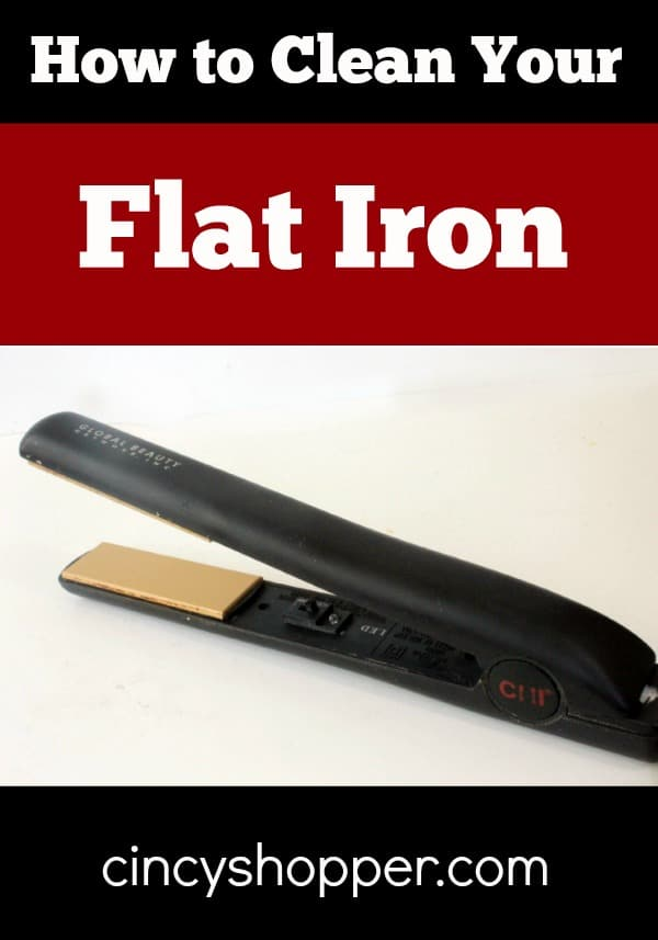 How to Clean Your Flat Iron