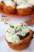 Mini Shepard's Pie Recipe