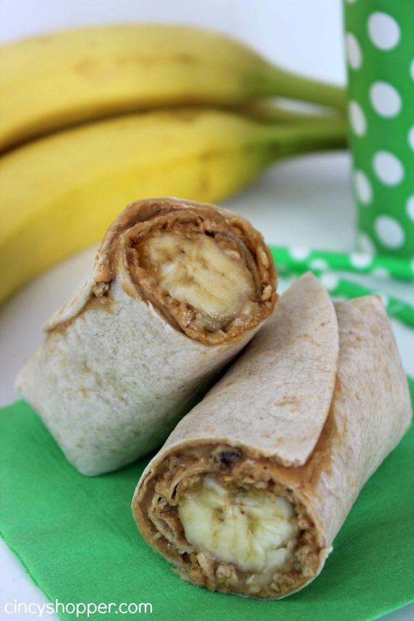 Peanut Butter Banana Roll-Ups Recipe 1
