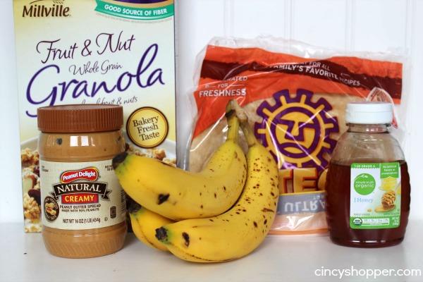 Peanut Butter Banana Roll-Ups Recipe 2