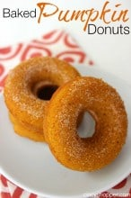 Baked Pumpkin Donuts Recipe