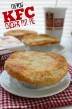 Copycat KFC Chicken Pot Pie Recipe