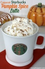 Copycat Starbucks Pumpkin Spice Latte Recipe