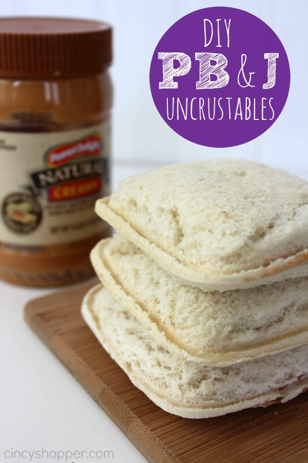 DIY PB&J Uncrustables Recipe