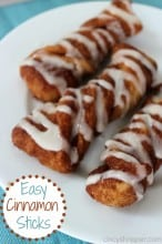 Easy Cinnamon Sticks Recipe