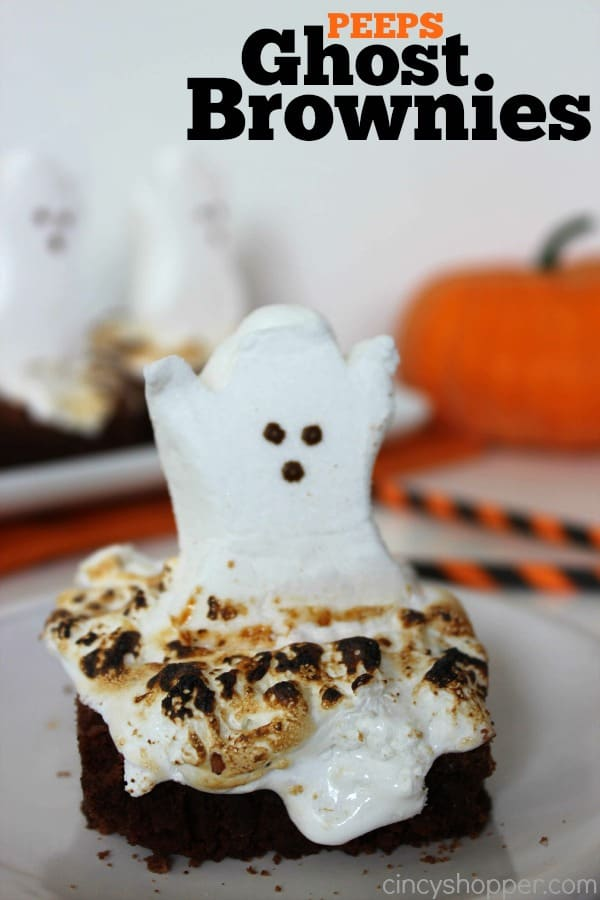 PEEPS Ghost Brownies Recipe - CincyShopper - photo#47