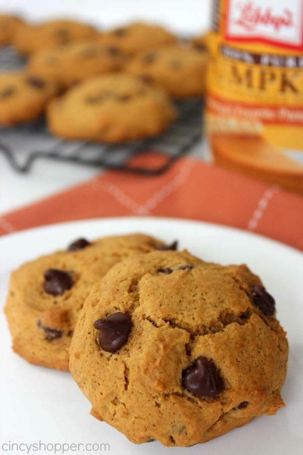 Pumpkin Chocolate Chip Cookies Recipe 1