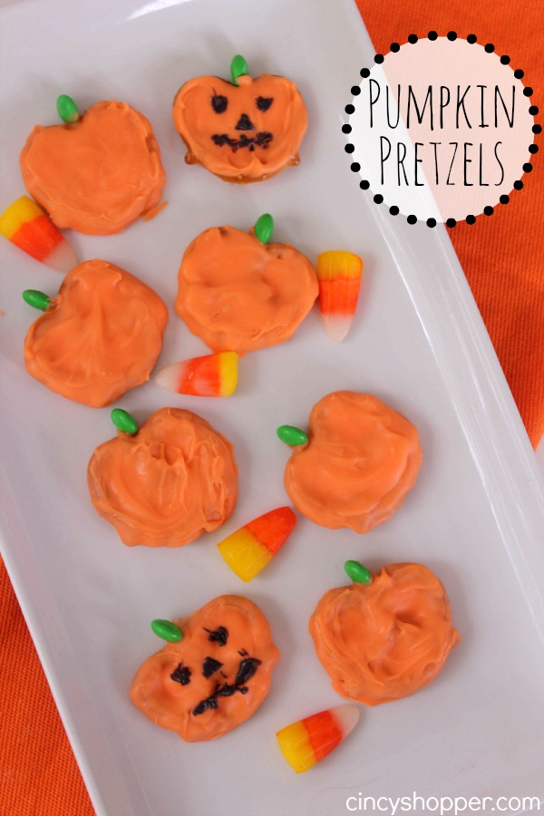 Pumpkin Pretzels Recipe 1