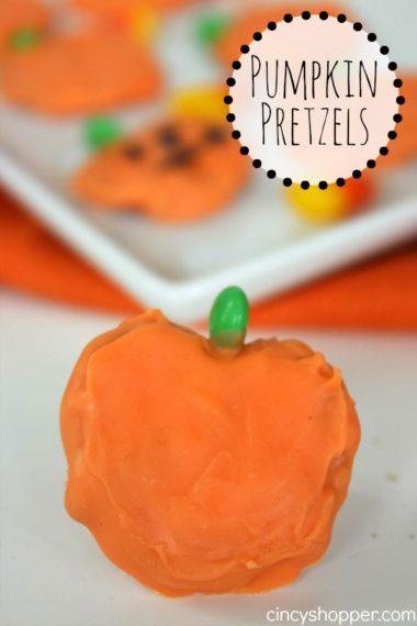 Pumpkin Pretzels Treats