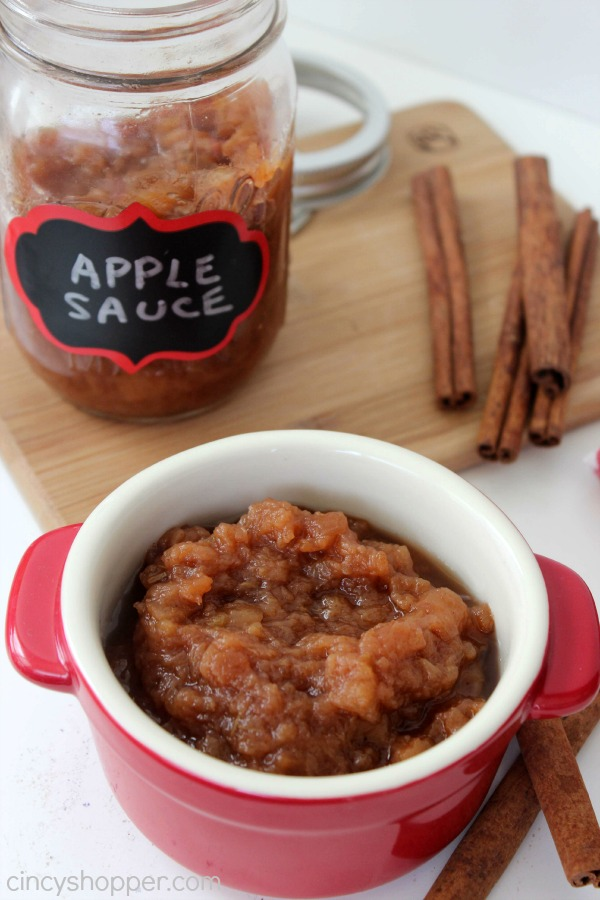 Slow Cooker Apple Sauce Recipe 2