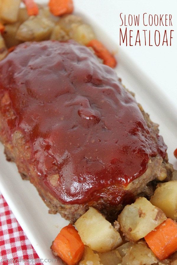 Slow Cooker Meatloaf Recipe 2