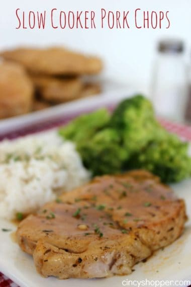 Slow Cooker Pork Chops Recipe
