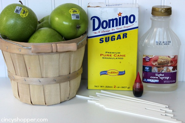 Candy Apples Recipe 1