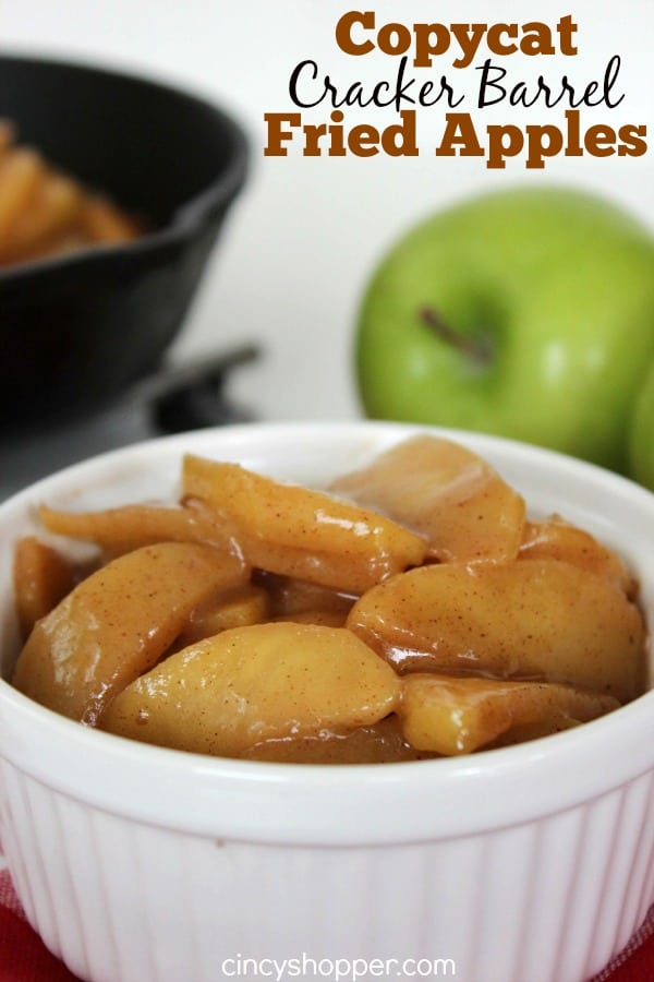 Copycat Cracker Barrel Fried Apples Recipe