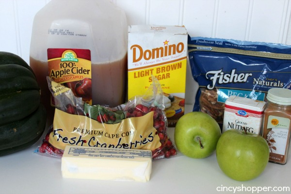 Cranberry Apple Stuffed Acorn Squash Recipe 1