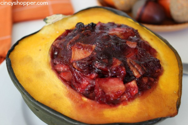Cranberry Apple Stuffed Acorn Squash Recipe 6