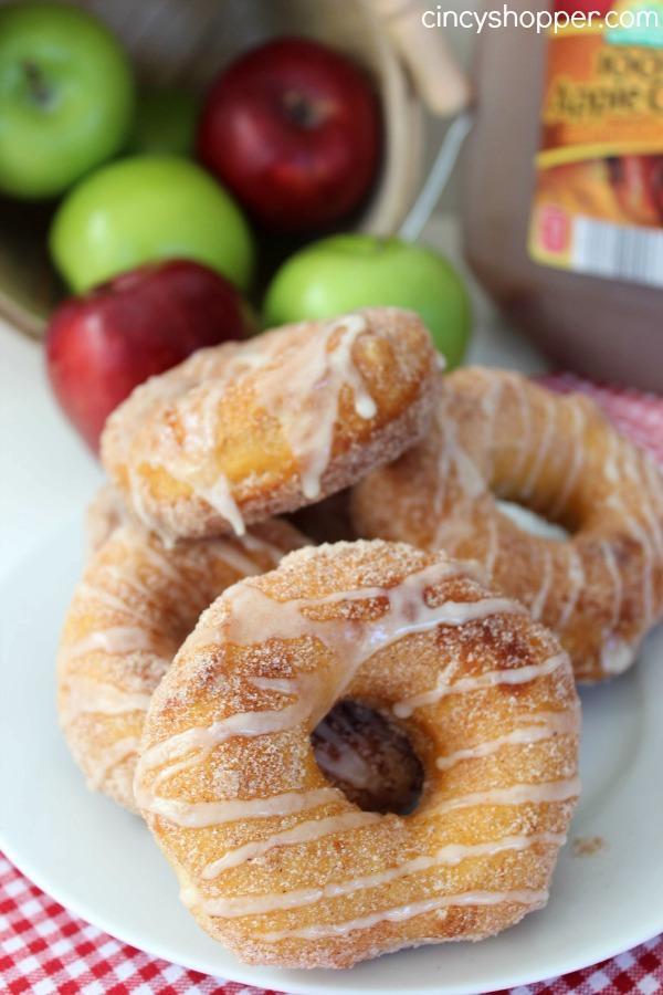 Easy Apple Cider Glazed Donut