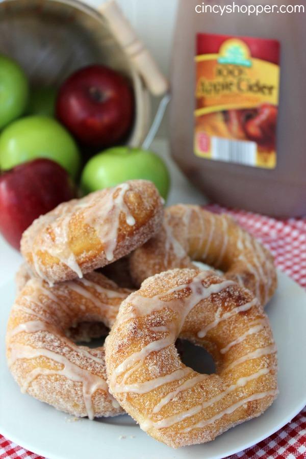Easy Apple Cider Glazed Donuts