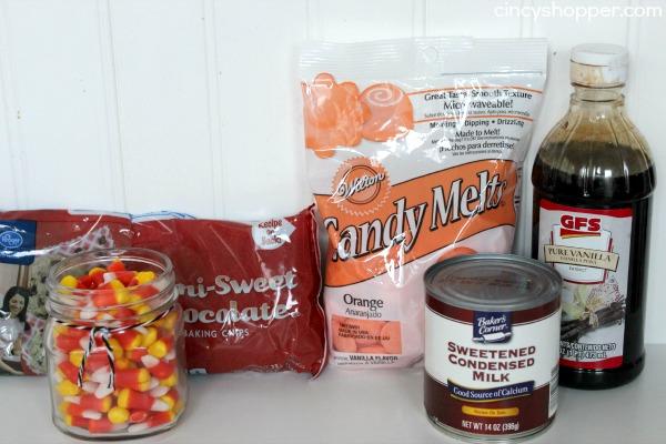 Easy Candy Corn Fudge Recipe 1