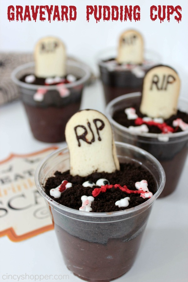Graveyard Pudding Cup Recipe