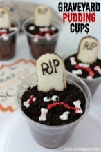 Graveyard Pudding Cups Recipe