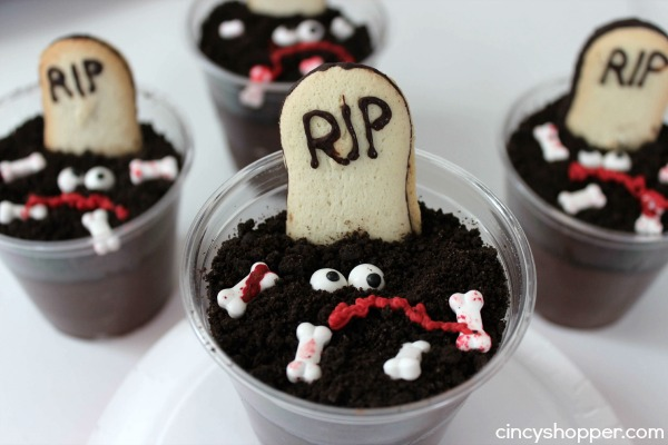 Graveyard Pudding Cups Recipe 4