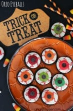 Oreo Eyeballs Halloween Treats