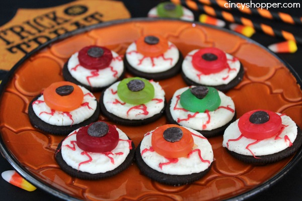 Oreo Eyeballs Halloween Treats - CincyShopper