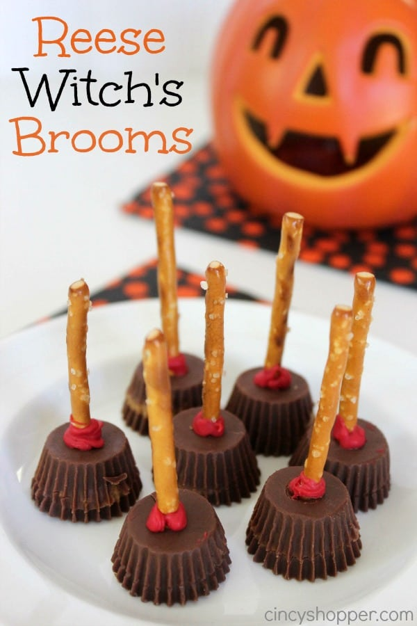 Reeses Witch's Brooms Recipe
