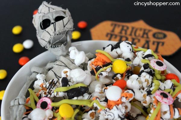 Spooky Halloween Popcorn Recipe 4