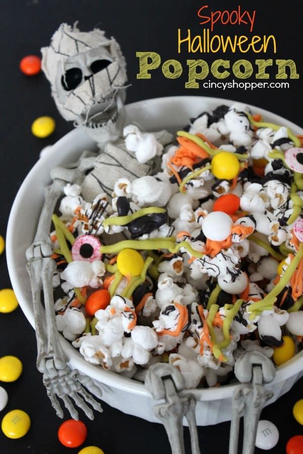 Spooky Halloween Popcorn Recipe