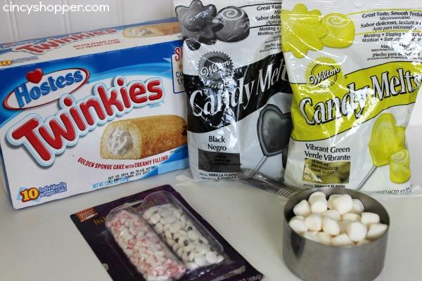 Twinkie Frankenstein Treats Recipe 1