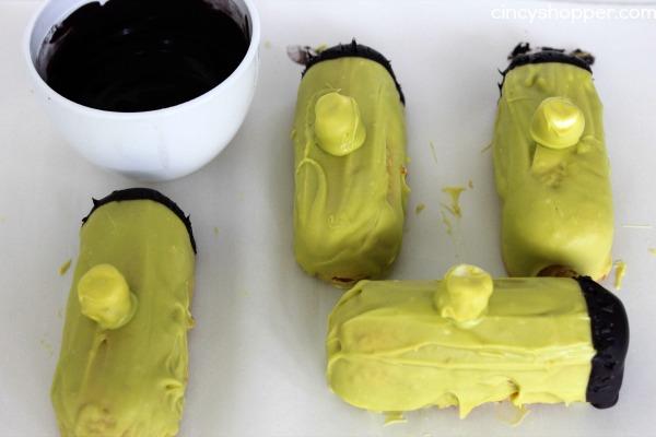 Twinkie Frankenstein Treats Recipe 2