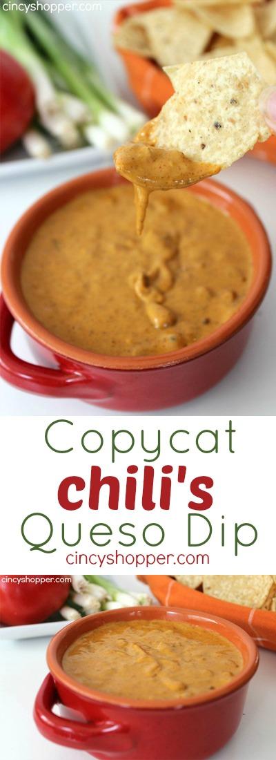 Copycat Chilis Queso Dip
