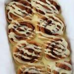 Eggnog Cinnamon Rolls Recipe