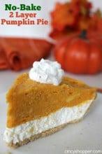 No Bake 2 Layer Pumpkin Pie Recipe