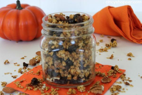 Pumpkin Granola Recipe 3