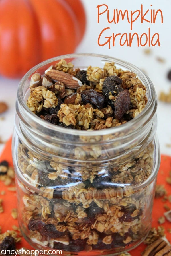 Pumpkin Granola Recipe - CincyShopper