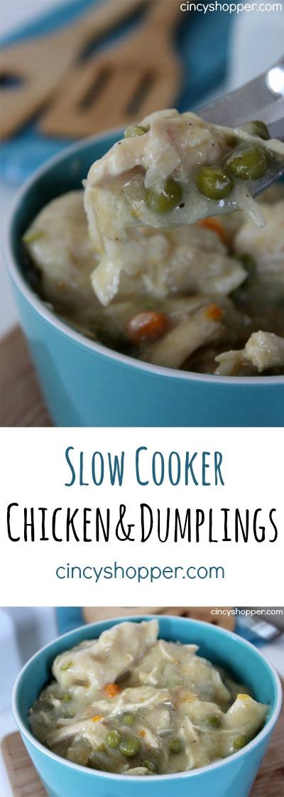 Slow Cooker Chicken and Dumpling Recipe